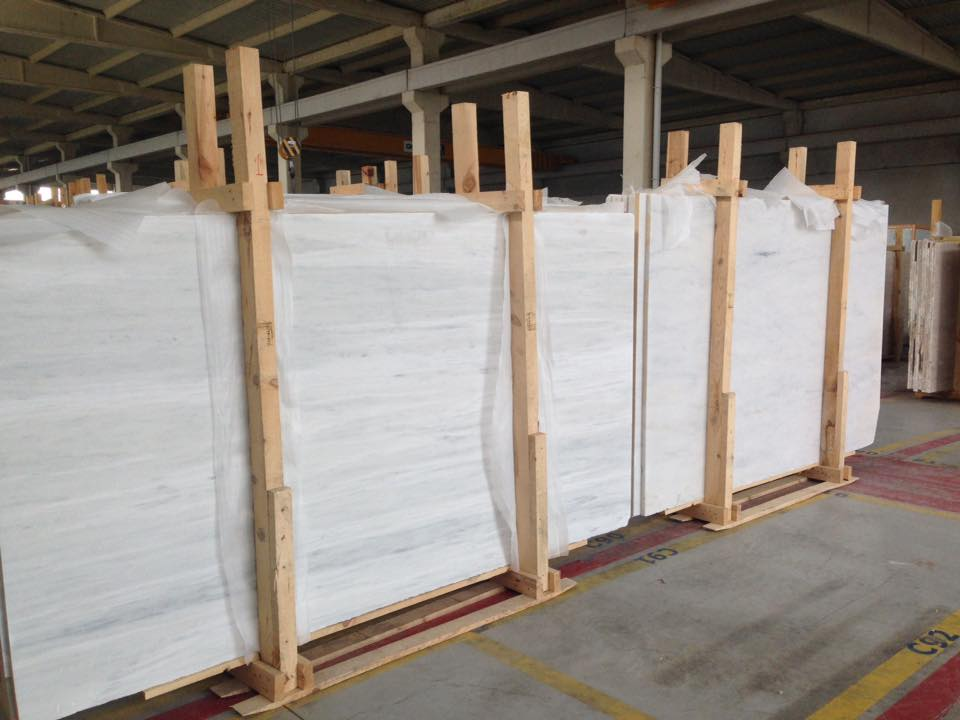 Mugla White Marble Polished Slab