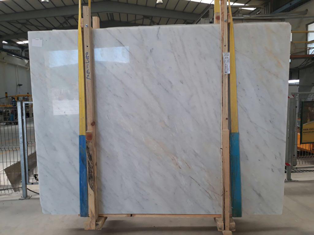 Mugla White Marble Polished White Marble Slabs
