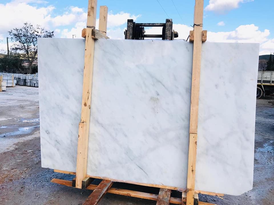 Mugla White Marble Slabs Turkish White Marble Slabs