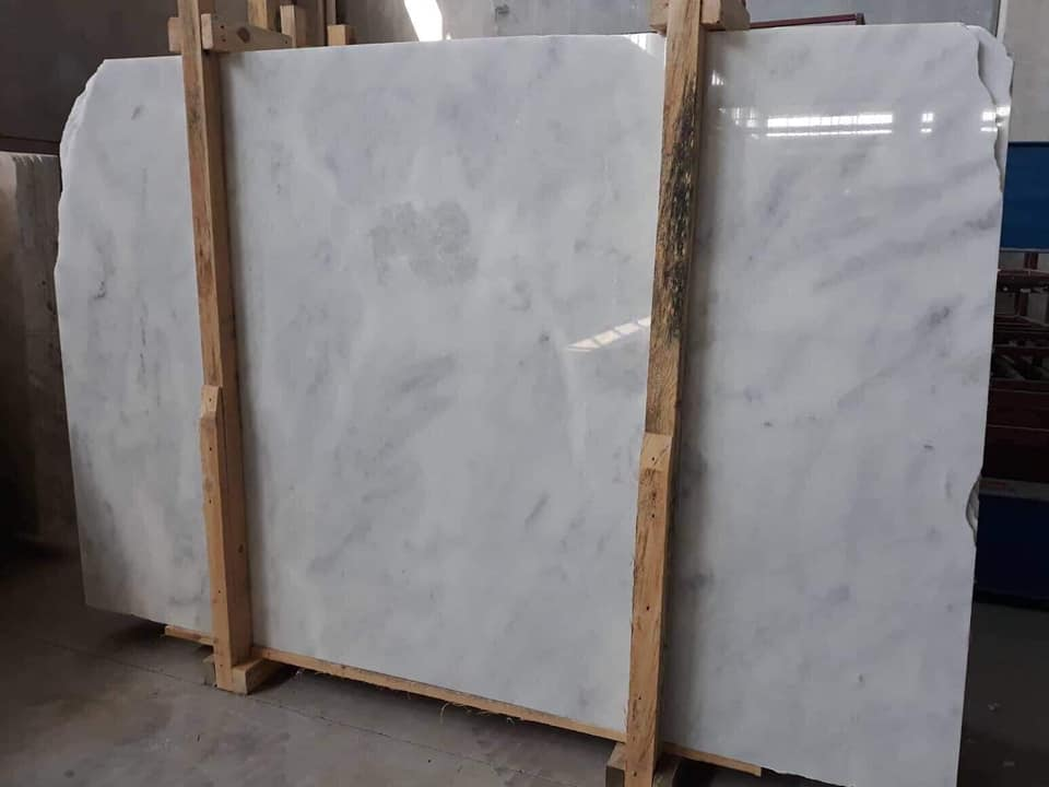 Mugla White Marble Slabs White Marble Polished Slabs