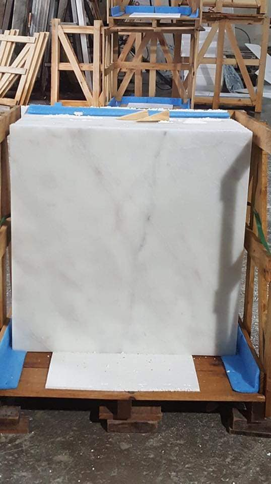 Mugla White Marble Tiles Turkish White Polished Tiles