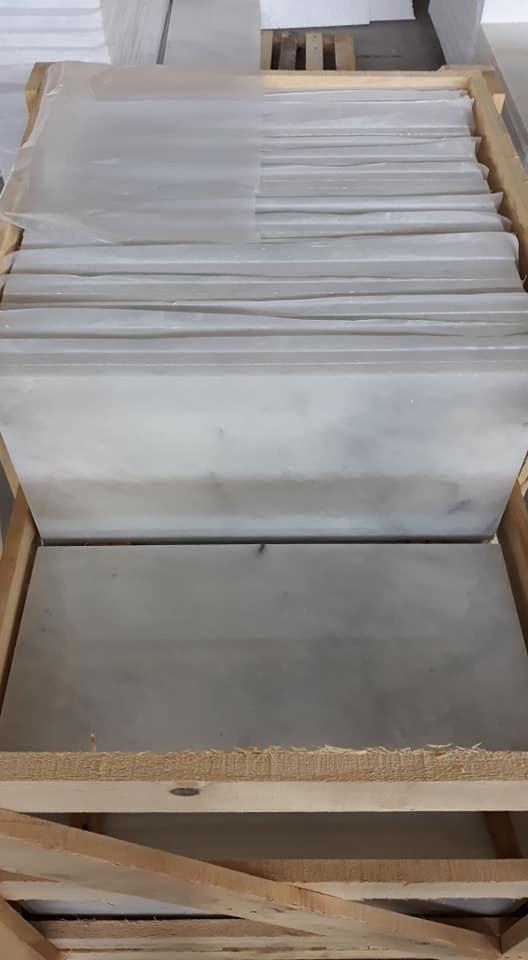 Mugla White Marble Tiles White Marble Tiles for Flooring