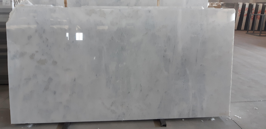Mugla White Polished Marble Slabs from Turkey
