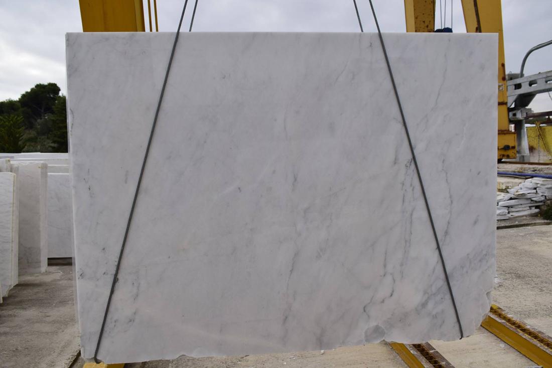 Mugla White Polished Marble Slabs with High Quality