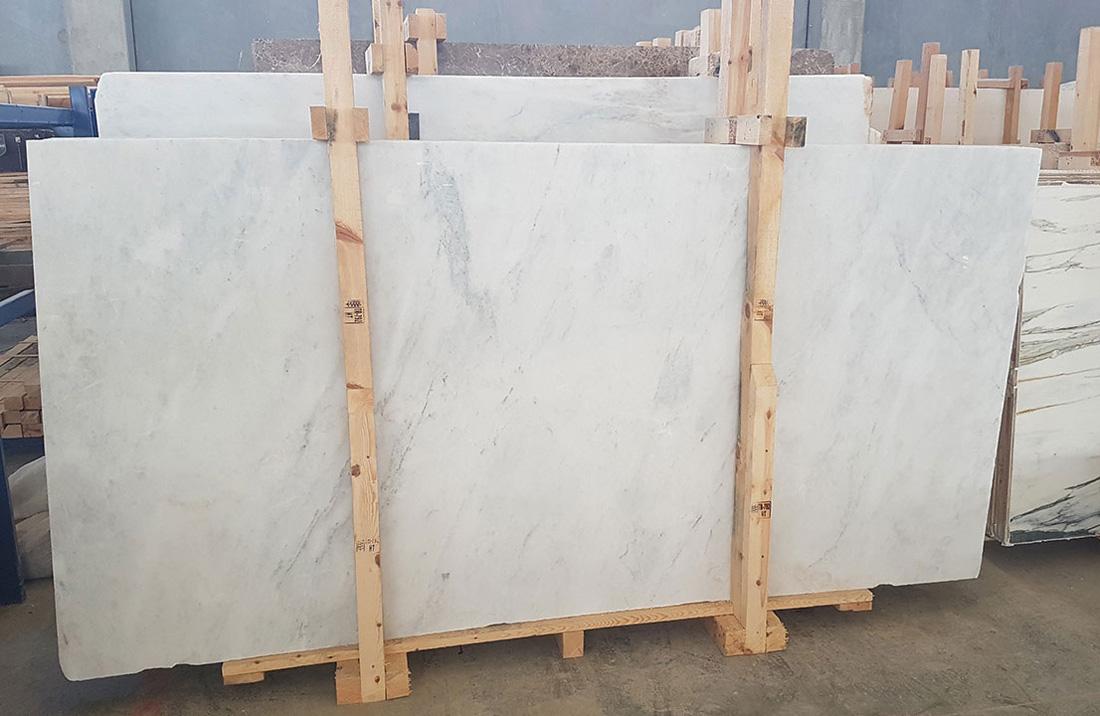 Mugla White Slab Competitive White Marble Stone Slabs