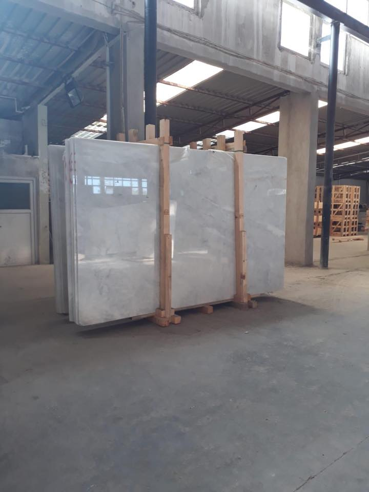 Mugla White Slabs Polished White Marble Slabs