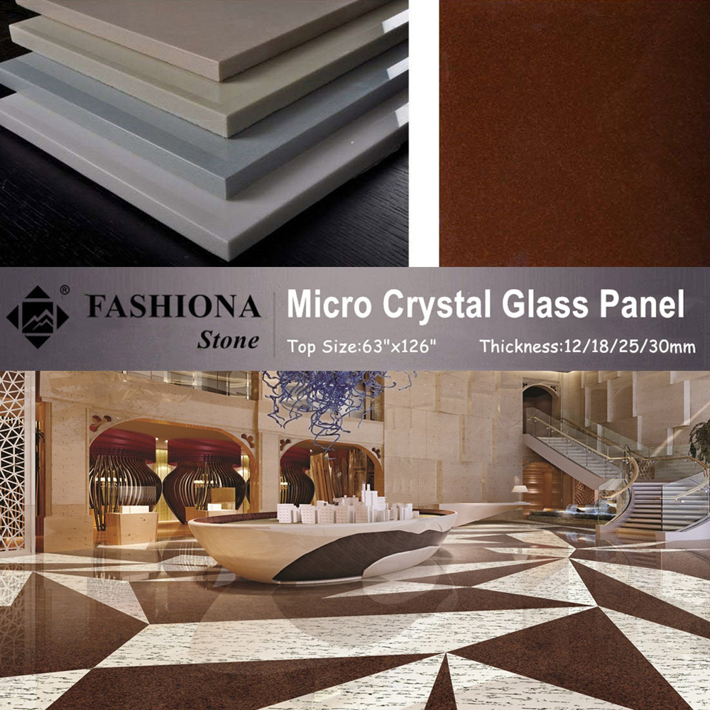 Multicolor Micro Crystal Glass Stone for Flooring