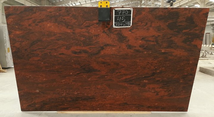 Multired Granite Polished Slabs
