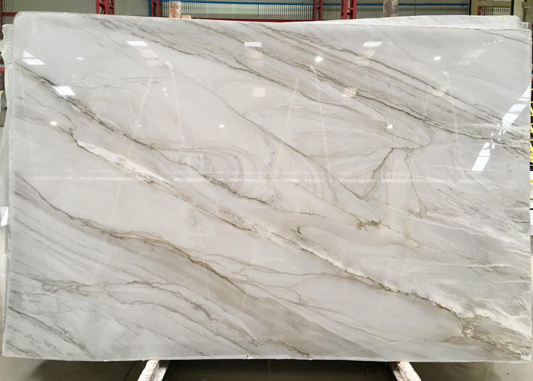 Mykonos Quartzite Polished White Quartzite Slabs from Brazil