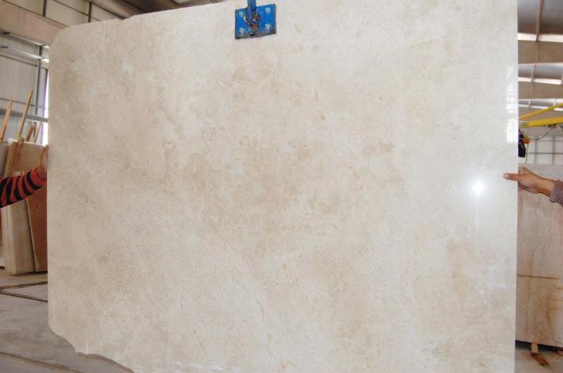 Mysia Beige Marble Slabs Polished Turkish Marble Slabs