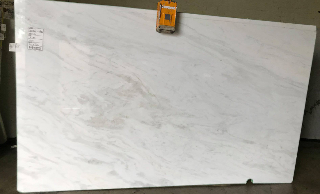 Mystery White Marble Slabs from Namibia