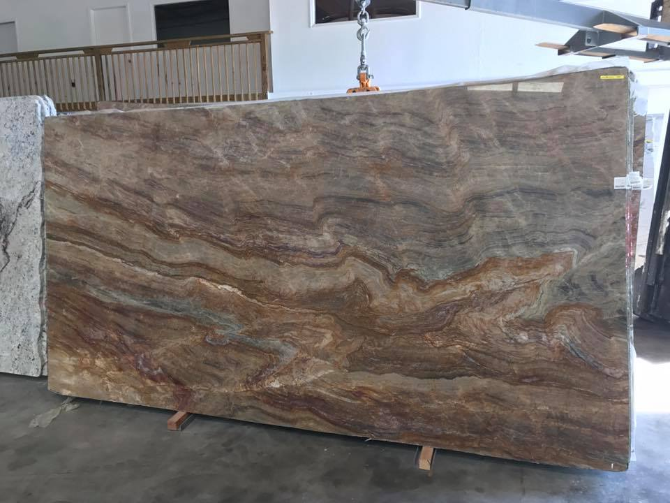 Nacarado Quartzite Slabs Brown Quartzite Slabs