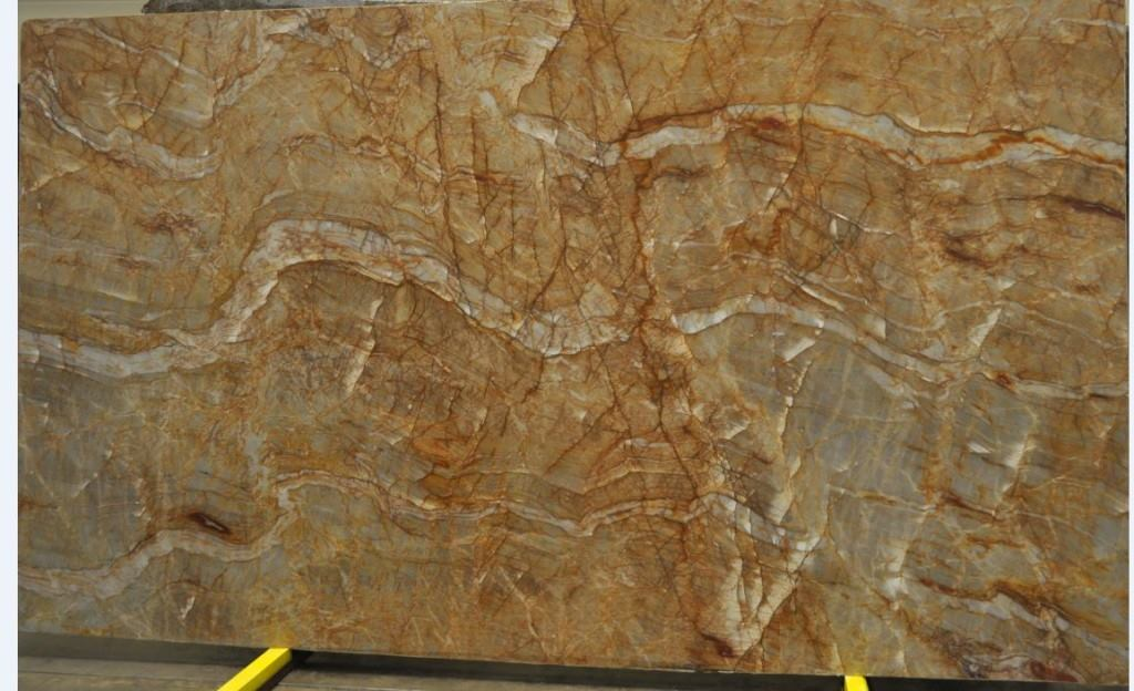 Nacarado Slab Quartzite Yellow Polished Quartzite Slabs