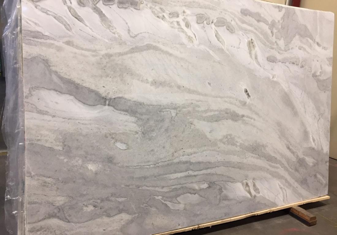 Namibian White Quartzite Slab for Kitchen Countertops