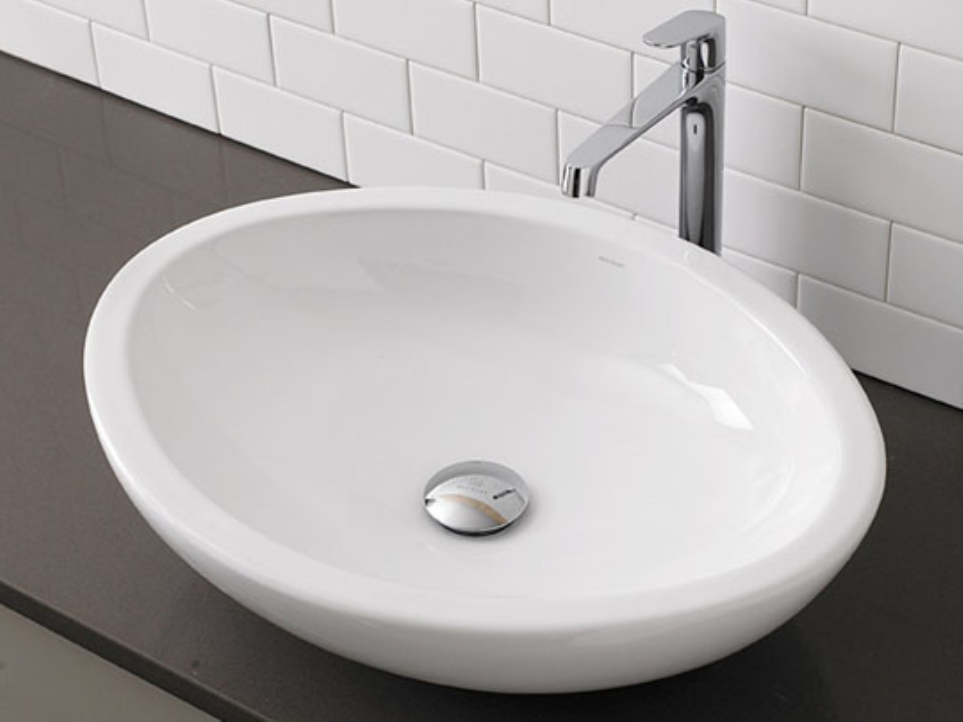 Nanoglass White Stone Sinks