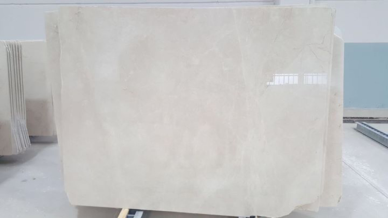 Natural Beige Marble Burdur Beige Polished Marble Slabs