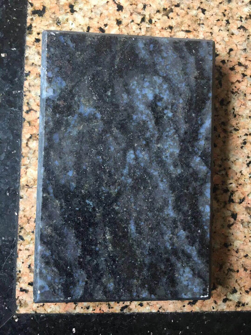 Natural Brazil Azul Infinito Blue Granite Tiles