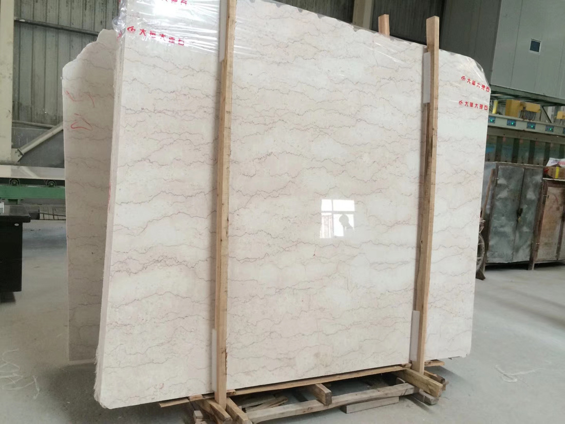 Natural Classic Tequila Beige Marble with Vein Marble Slabs
