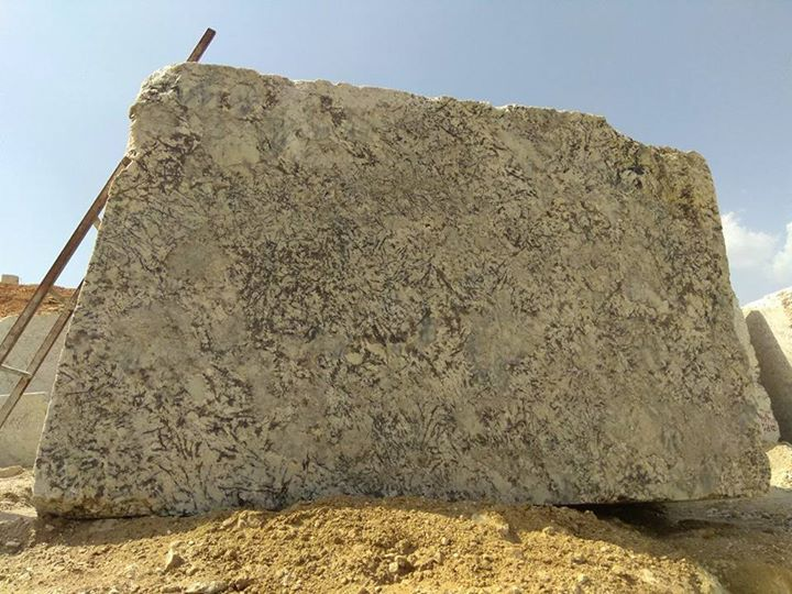 Natural Granite Blocks Alaska White Granite Blocks