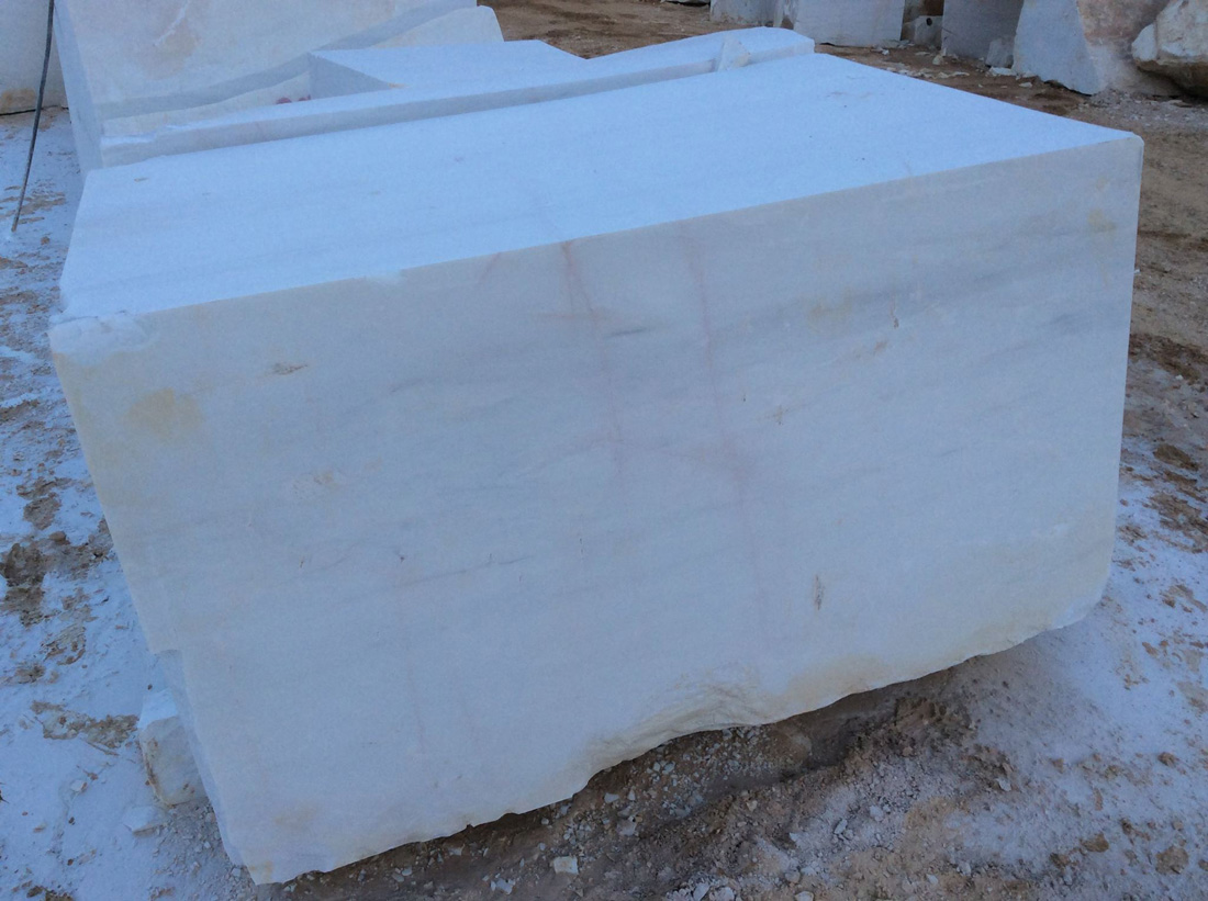 Natural Marble Bianco Dolomite White Marble Blocks
