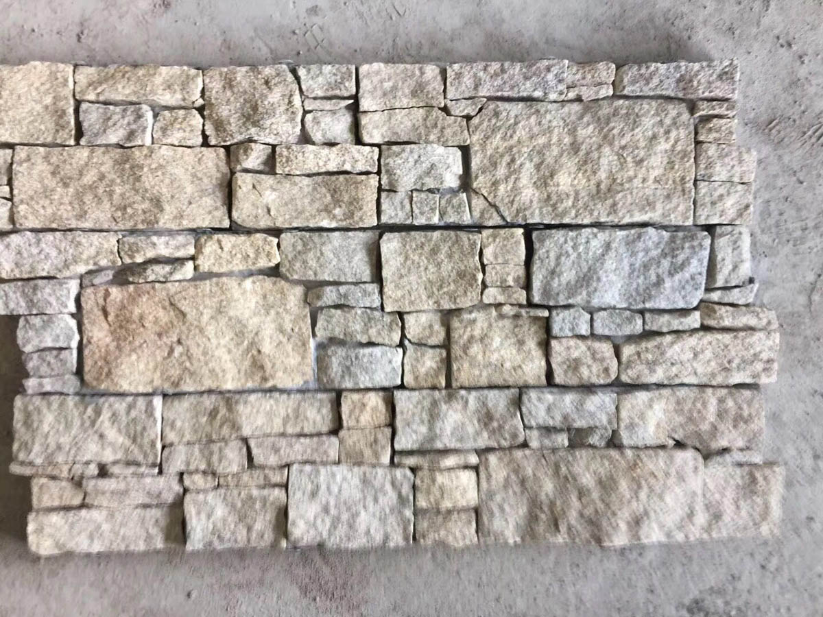 Natural Quartzite Stone Exterior Wall Cladding