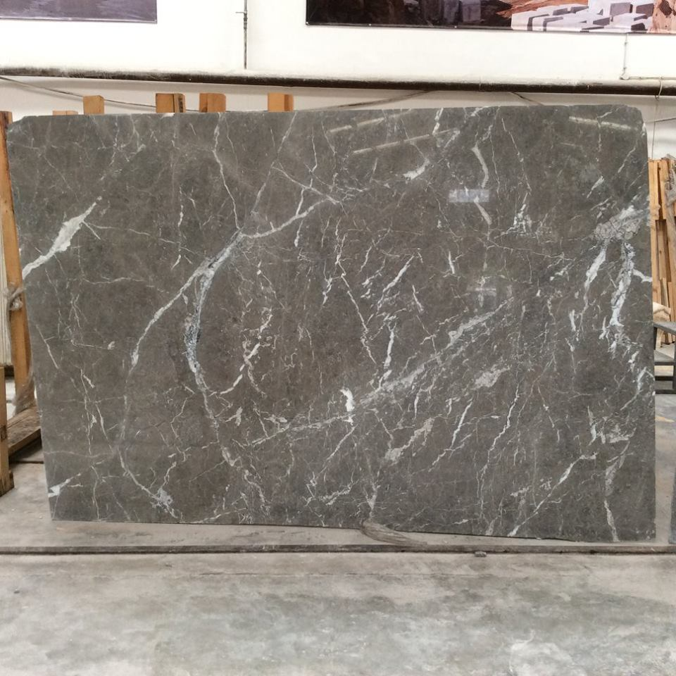 Natural Queen Grey Marble Stone Slabs
