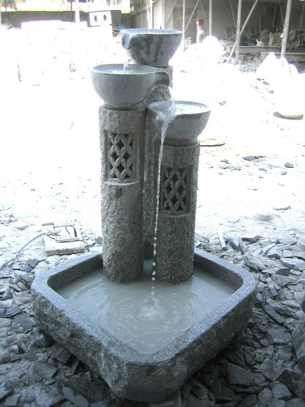 Natural White Granite Stone Fountains
