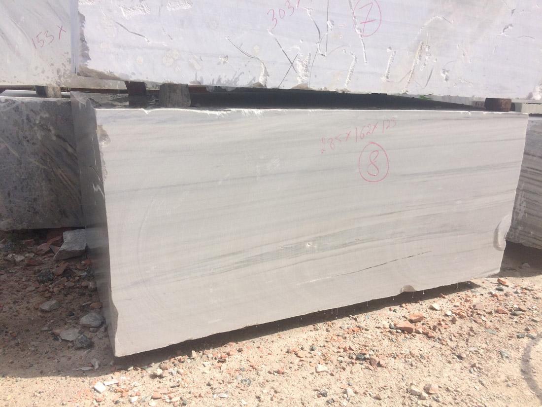 Natural White Marble Blocks Raymond White Blocks