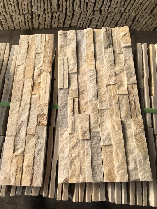 Natural White Marble Veneer Culture Stack Stone