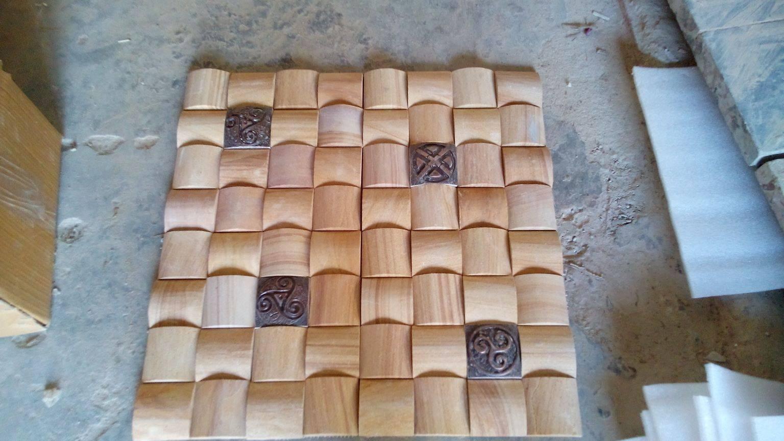 Natural sandstones culture tiles