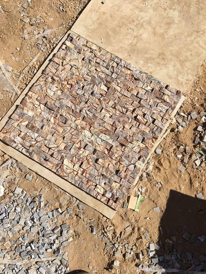 Natural stones tile