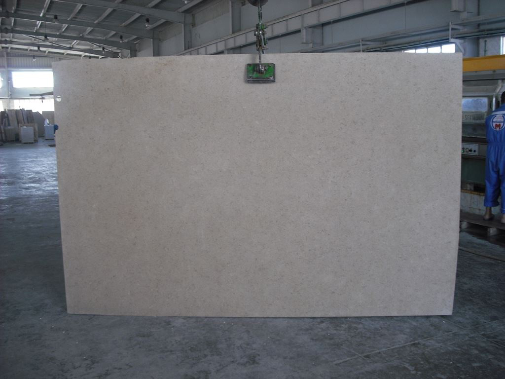 Nature Polished Egyptian Sinai Pearl Calacatta Zebrino Marble Slab