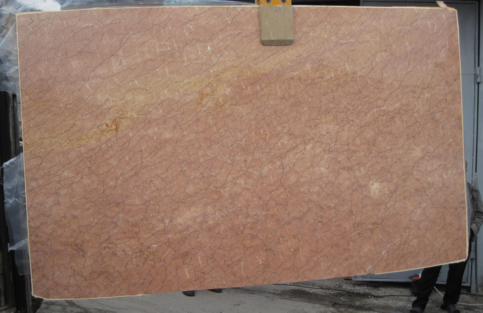 Nature Rosa Cream Valencia And Pink Marble Slab
