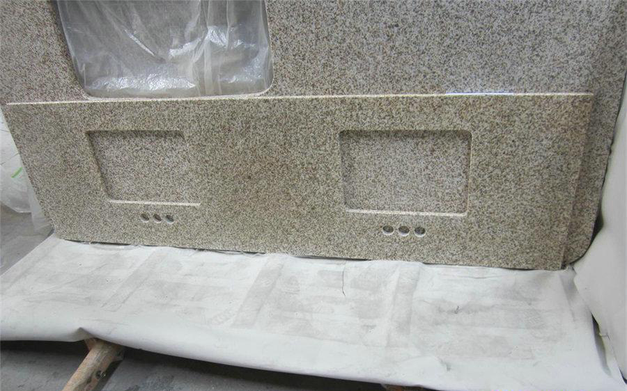 Navajo Beige Granite Kitchen Countertops