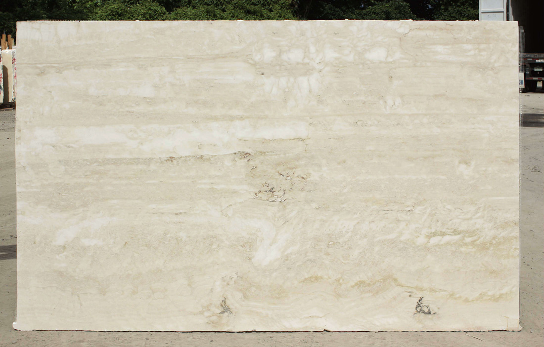 Navona Travertine Vein Cut Beige Travertine Slabs