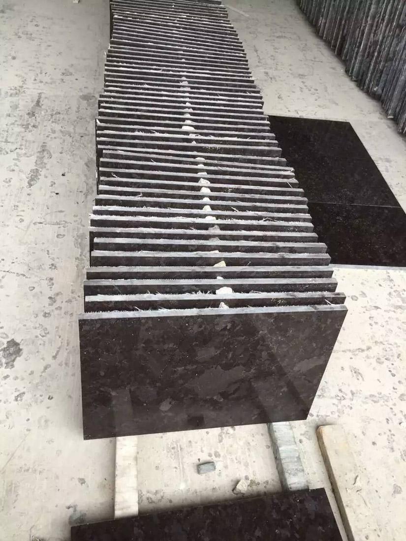 Negro Angola Brown Antique Brown Black Granite Tiles