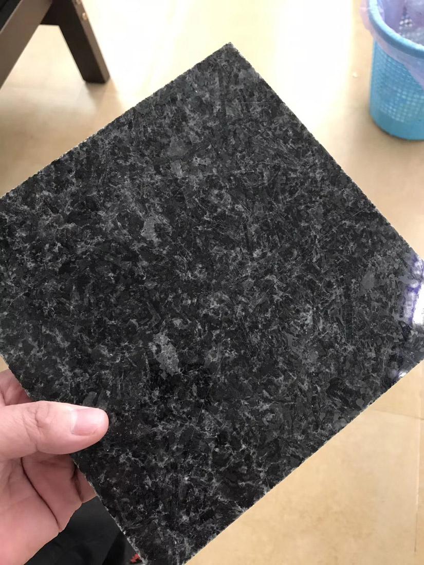 Nero Angola Crystal Black Granite Tiles