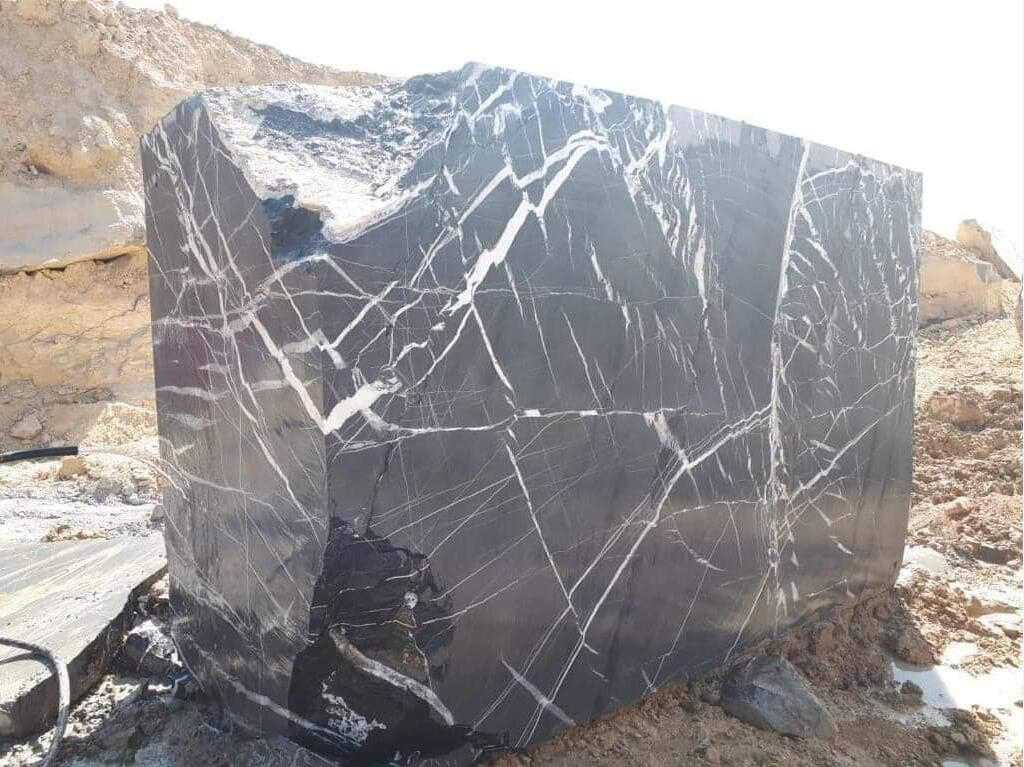 Nero Marquina Marble Blocks Natural Black Marble Blocks