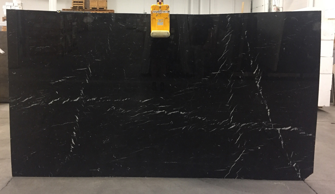 Nero Marquina Marble Slabs Spain Black Stone Polished Slabs