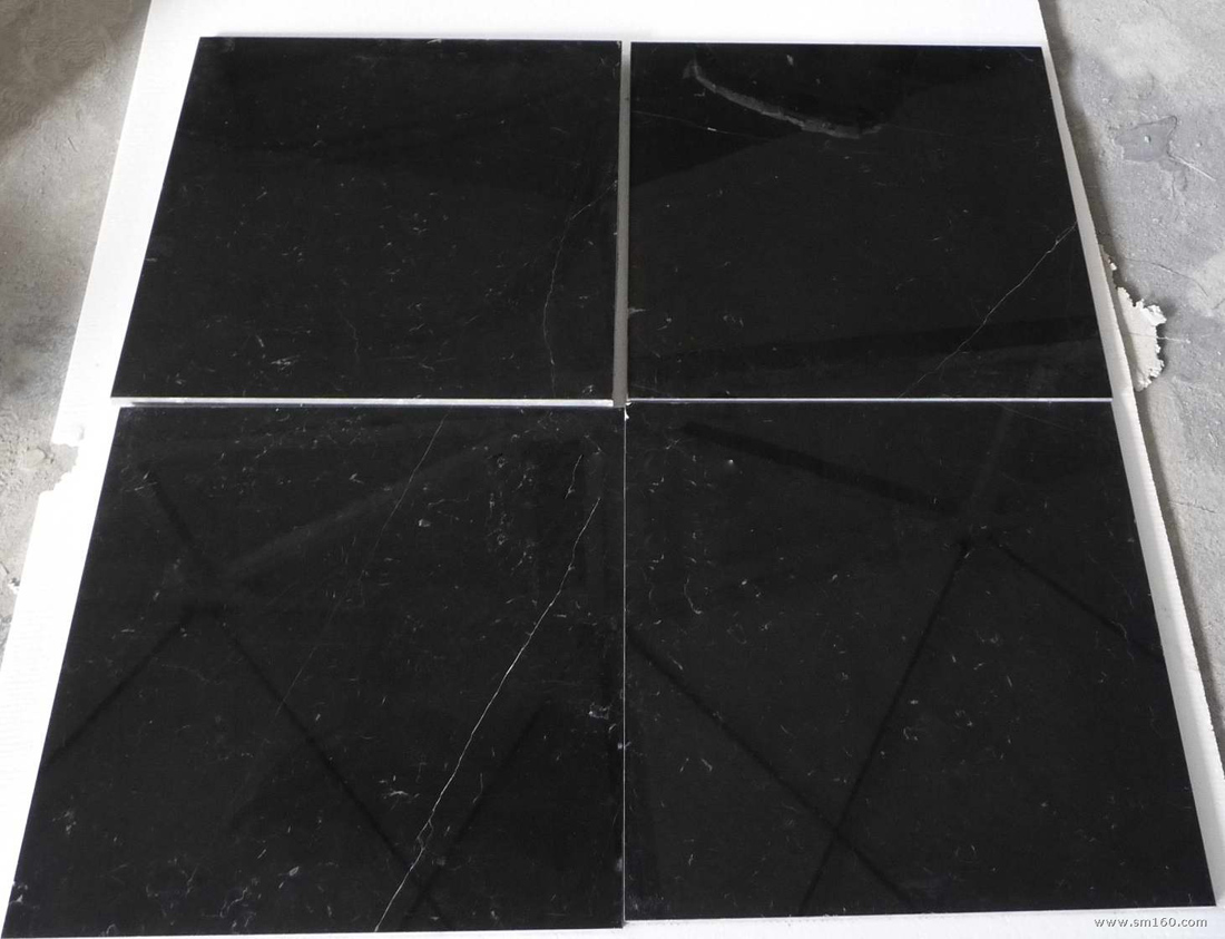 Nero Marquina Marble Tiles Black Marble Flooring Stone Tiles