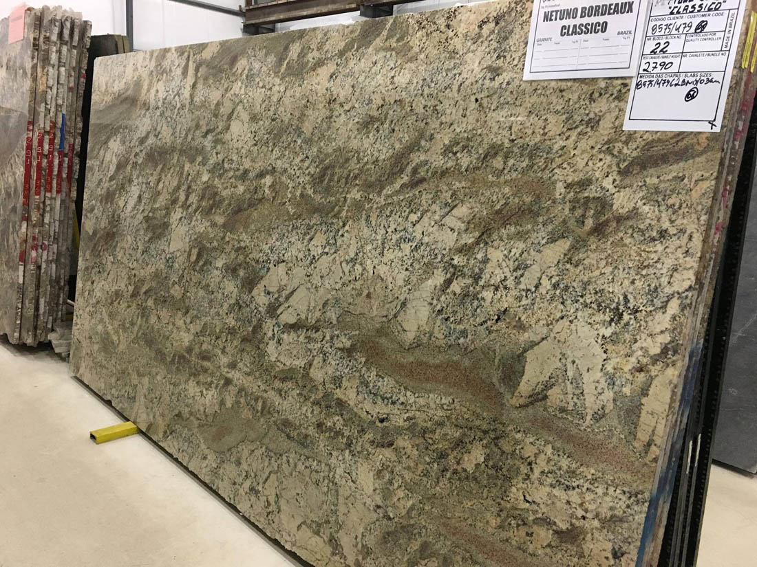 Netuno Bordeaux Classico Granite Top Quality Granite Slabs