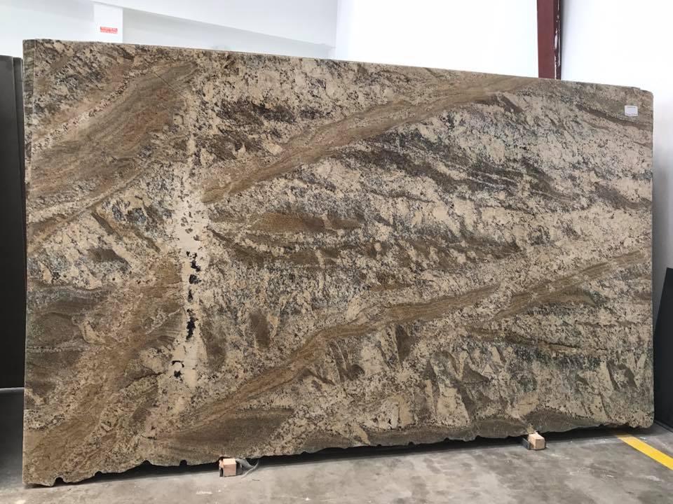 Netuno Bordeaux Polished Granite Slabs from Brazil