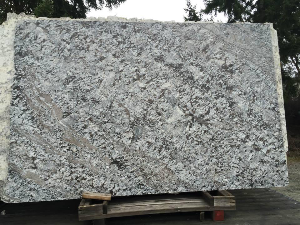 New Azul Aran Granite White Granite Slabs