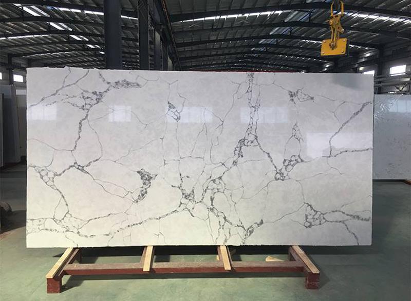 New Calacatta Quartz Stone Slab