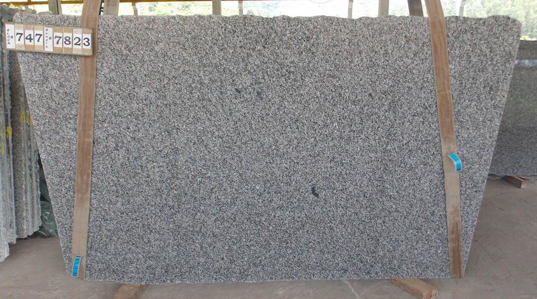 New Caledonia 3cm Granite Slabs Grey Granite Polished Slabs