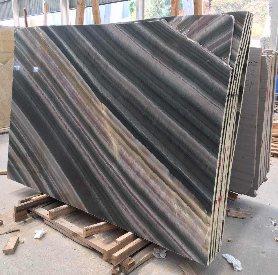 New China Luis Brown Marble Slabs