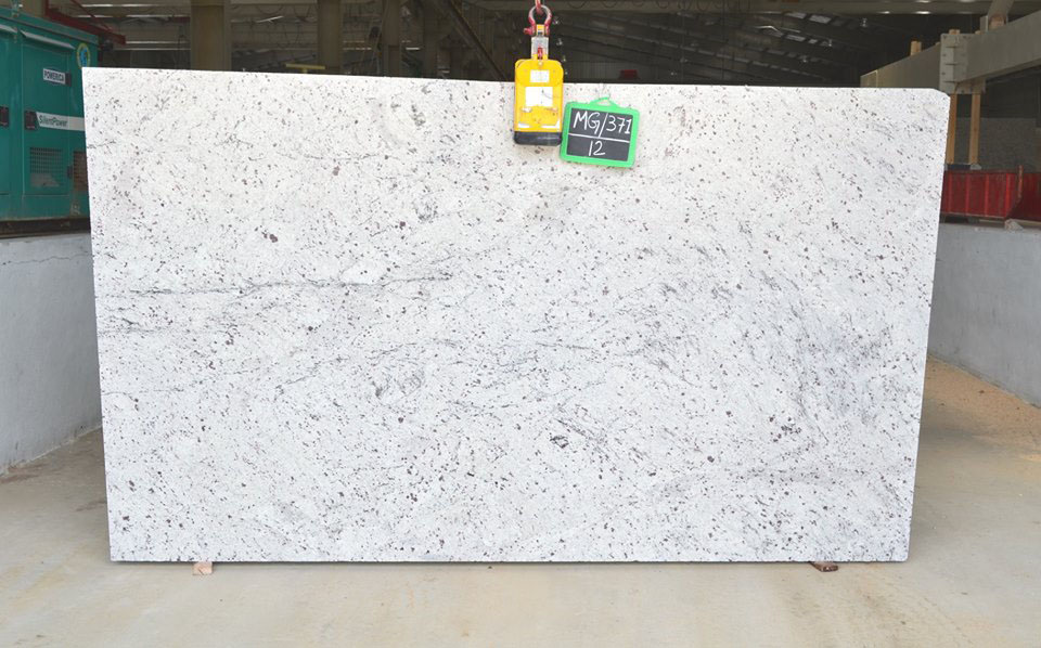New Colonial White 3 CM Thick Slabs Polished