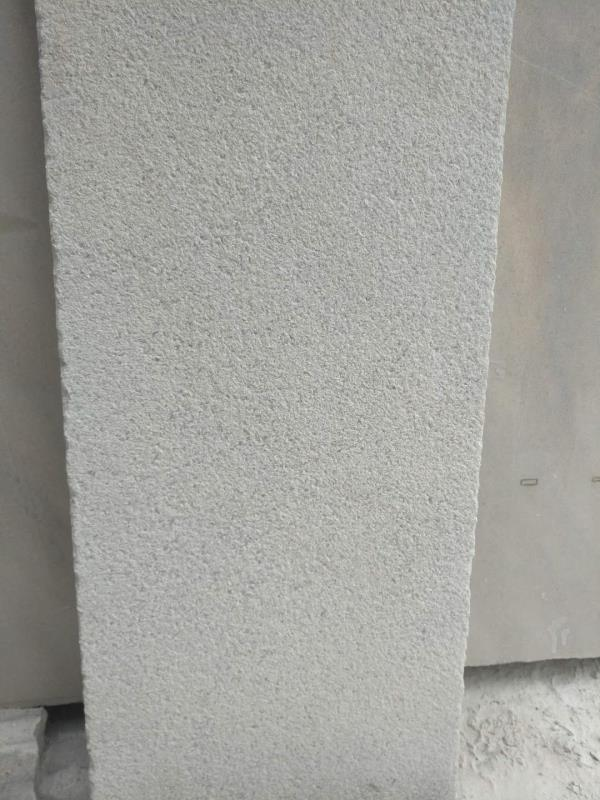 New Crystal White Bushammered Brushed Marble Tile