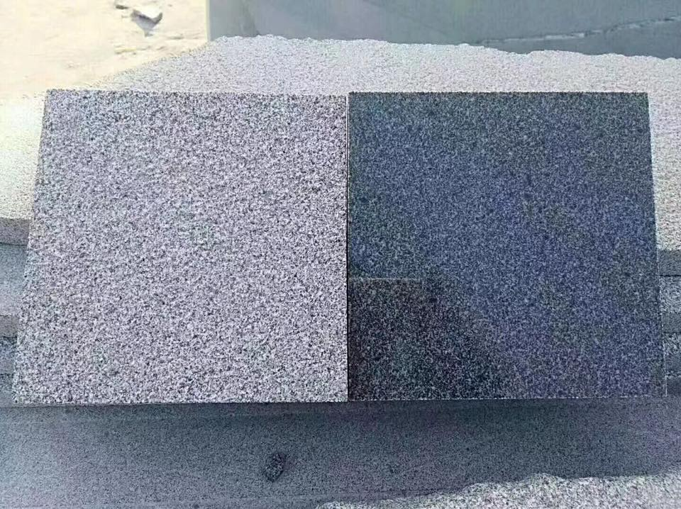 New G654 Polished and Flamed Granite Stone Tiles