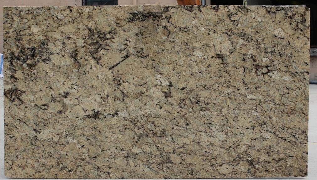 New Golden Beach Granite Slabs Yellow Granite Slabs for Countertops